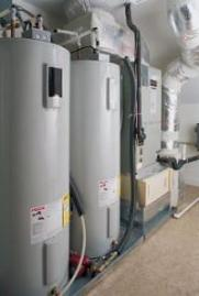 we service commercial water heaters